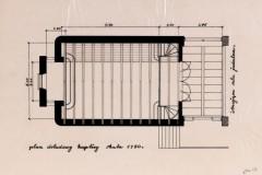 rzut kaplicy 1932 (zbiory Muzeum Architektury we Wrocławiu)