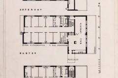 Rzuty poziomów 1928  (zbiory Muzeum Architektury we Wrocławiu)