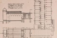 Projekt rozbudowy o kaplicę 1933 3 (zbiory Muzeum Architektury we Wrocławiu)