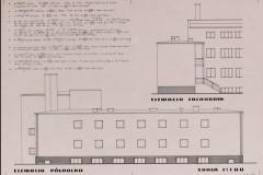 Projekt rozbudowy o skrzydło północne 1933 (zbiory Muzeum Architektury we Wrocławiu)