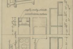 Projekt kwietników 1932 (zbiory Muzeum Architektury we Wrocławiu)