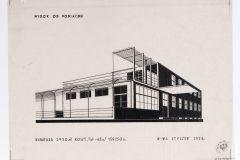 projekt koncepcyjny Domu Macierzystego Tabita - 1928 r (zbiory Muzeum Architektury we Wrocławiu)