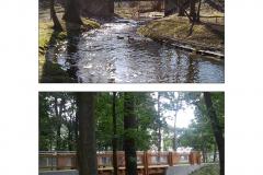Mostek w Parku Zdrojowym
