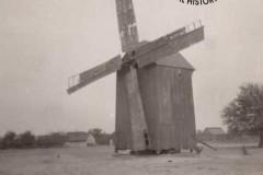 Wiatrak w Powsinku, lata trzydzieste XX wieku.