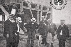 Wiatrak w Jeziornie, 1908 r.