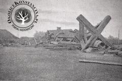 Wiatrak w Jeziornie, 1907r.
