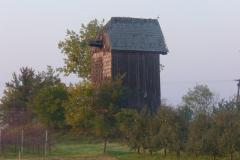 Wiatrak w Sobieniach Kiełczewskich, 2009 r.