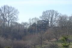 Wiatrak w Słomczynie po pożarze w 2014 r.