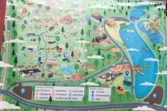 Obecny plan ośrodka, 2020 (fot. A.Zyszczyk)
