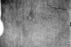 Niemieckie zdjęcie lotnicze z 2.12.1944 roku. Widoczne Jeziorna Królewska,  Mirków. Habdzin, część Konstancina, Obory, las oborski. Ze  zbiorów biblioteki Kongresu USA