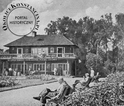 Widok budynku klubowego, Stolica, 1954