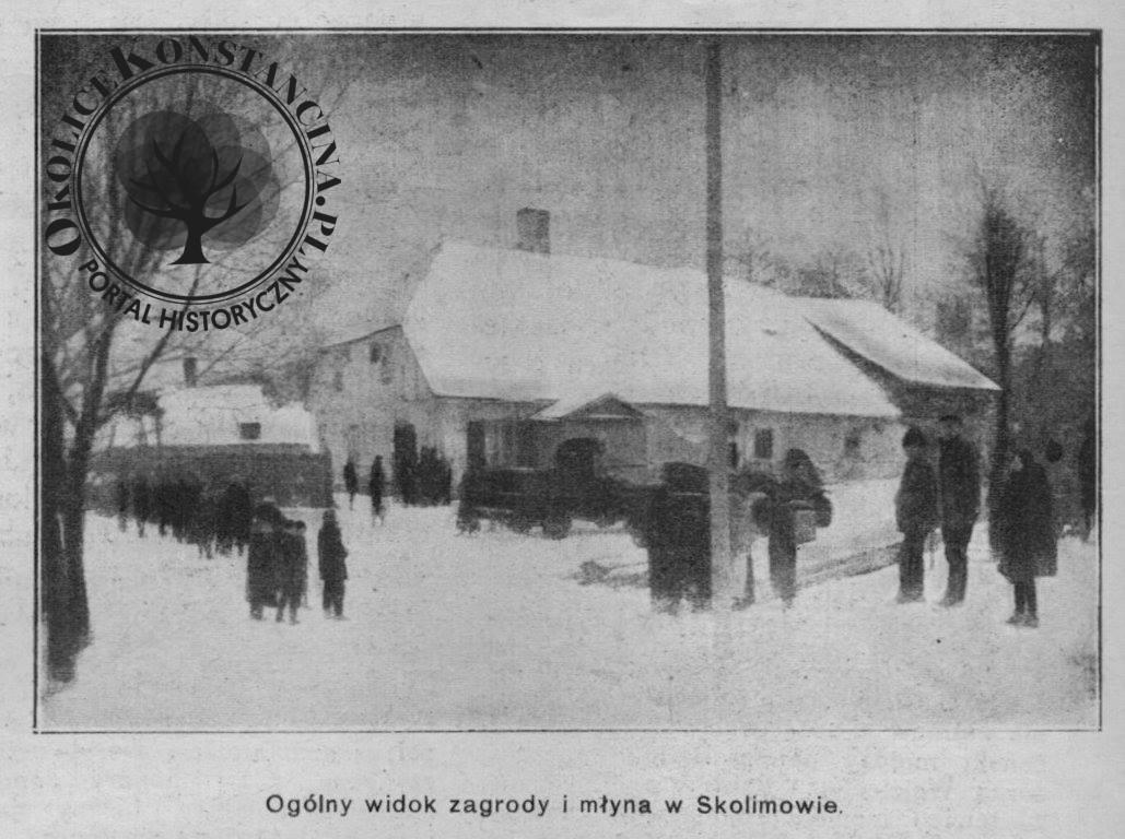 Młyn miejscem napadu i mordu w 1922 r. (zbiory Beaty Zahorskiej)