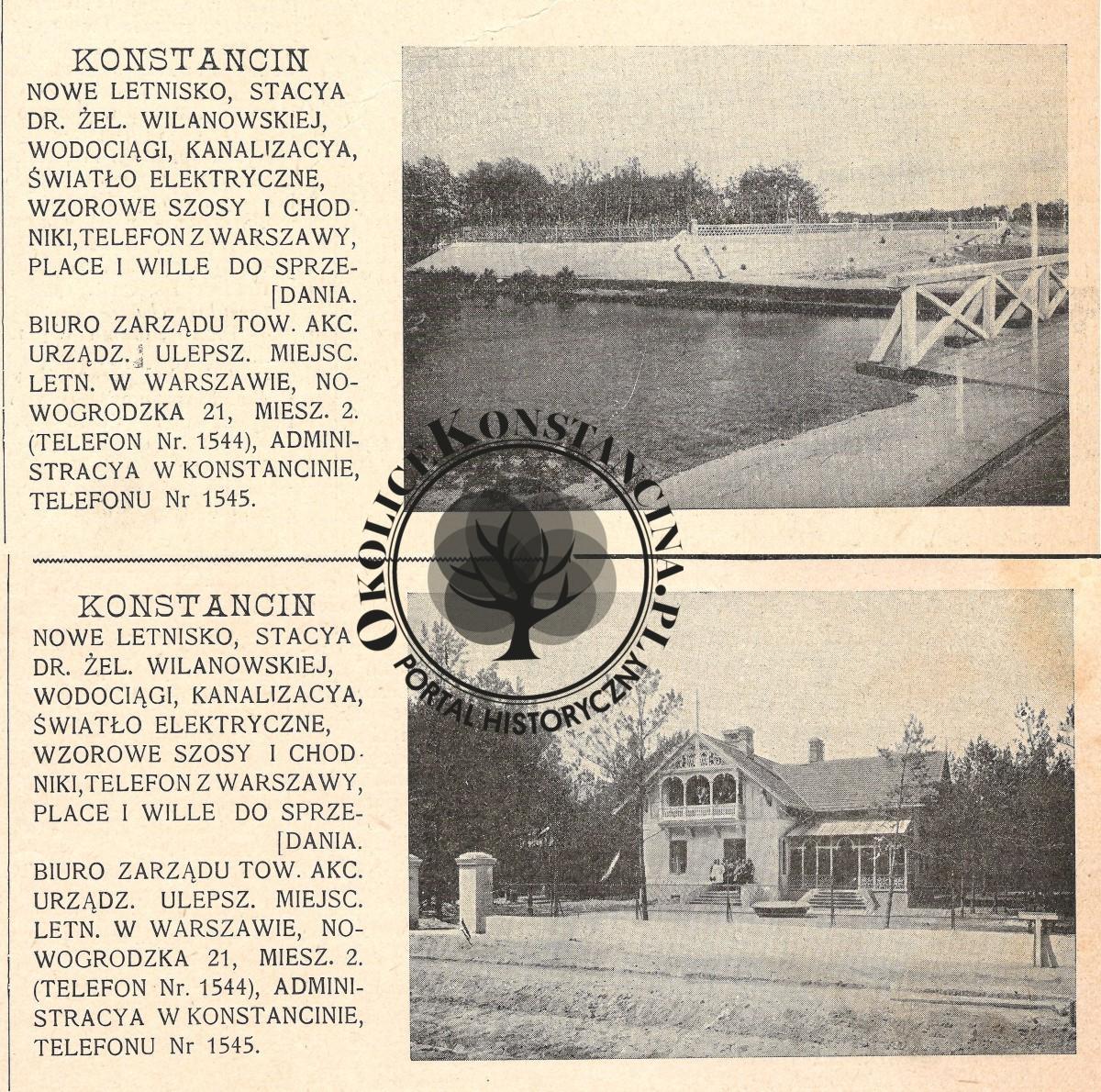 Cykl reklam z Tygodnika Ilustrowanego z 1901 r. (zbiory A.Zyszczyka)