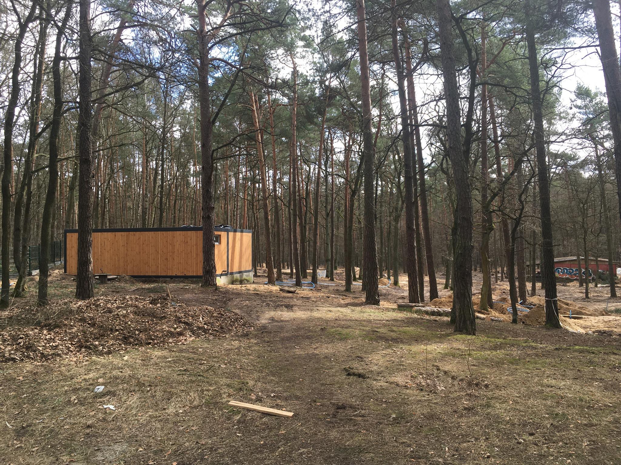 Nowe domki kempingowe (marzec 2021)