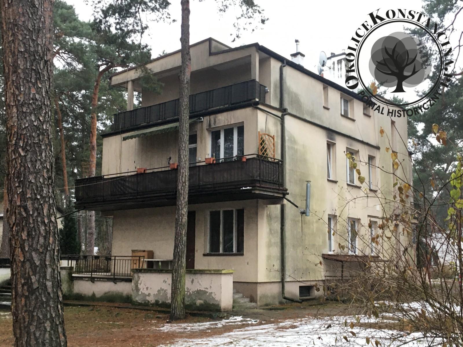 Dom przy ulicy Jasiowej 6 błędnie opisywany jako dom wypoczynkowy dr Bernsteina (fot.A.Zyszczyk)
